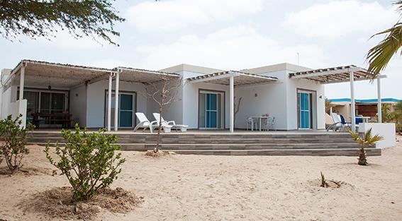 villa spiaggia Capoverde Boavista